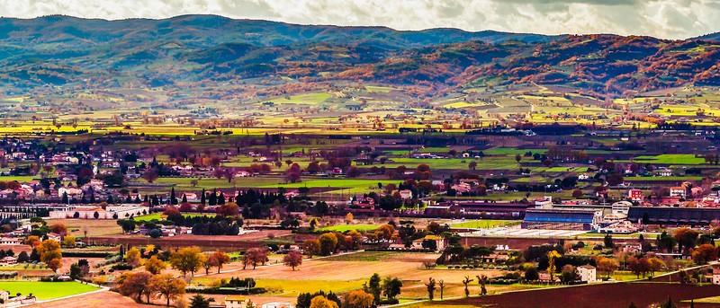 意大利阿西西(Assisi), 俯视全城_图1-8