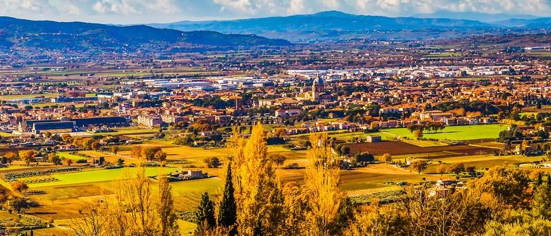 意大利阿西西(Assisi), 俯视全城_图1-7