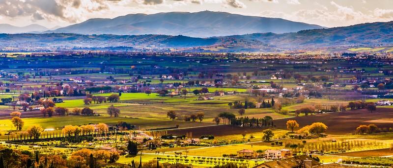 意大利阿西西(Assisi), 俯视全城_图1-2