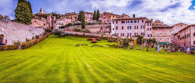 意大利阿西西(Assisi), 俯视全城_图1-15