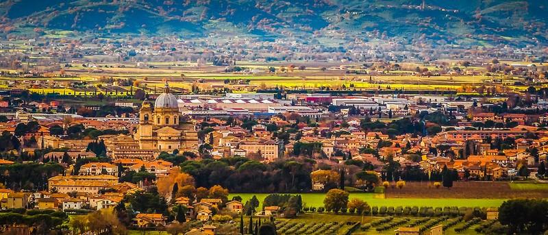 意大利阿西西(Assisi), 俯视全城_图1-16