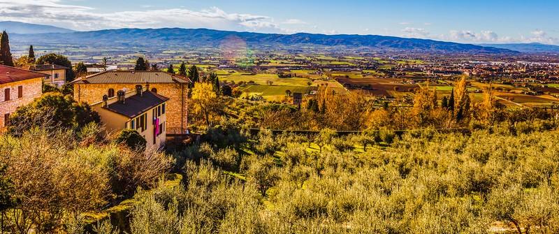 意大利阿西西(Assisi), 俯视全城_图1-20