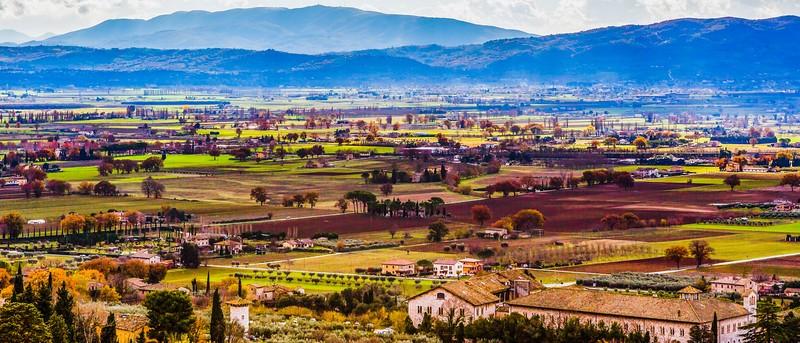 意大利阿西西(Assisi), 俯视全城_图1-19