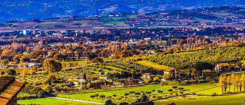 意大利阿西西(Assisi), 俯视全城_图1-21