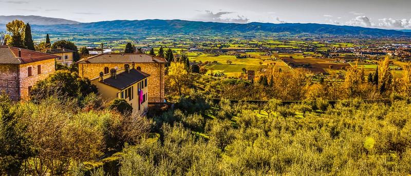 意大利阿西西(Assisi), 俯视全城_图1-23