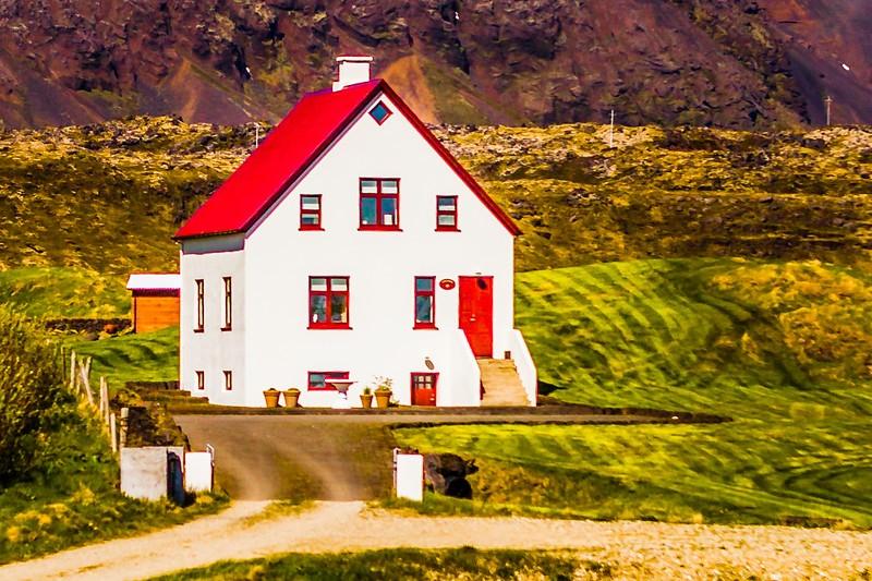 冰岛Arnarstapi,风景胜地_图1-2