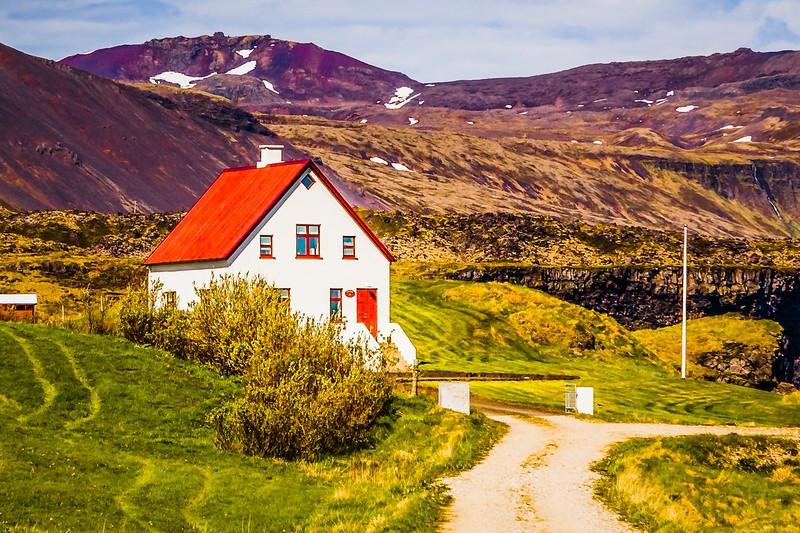冰岛Arnarstapi,风景胜地_图1-4