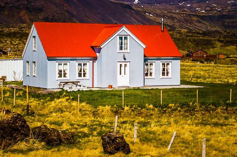 冰岛Arnarstapi,风景胜地_图1-12