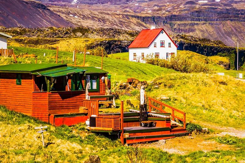 冰岛Arnarstapi,风景胜地_图1-15