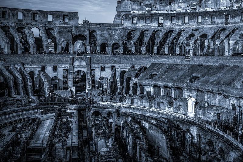 罗马斗兽场(Colosseum), 眼界大开_图1-2