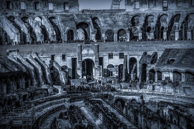 罗马斗兽场(Colosseum), 眼界大开_图1-4