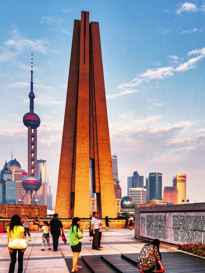 上海外滩,十年记忆_图1-12