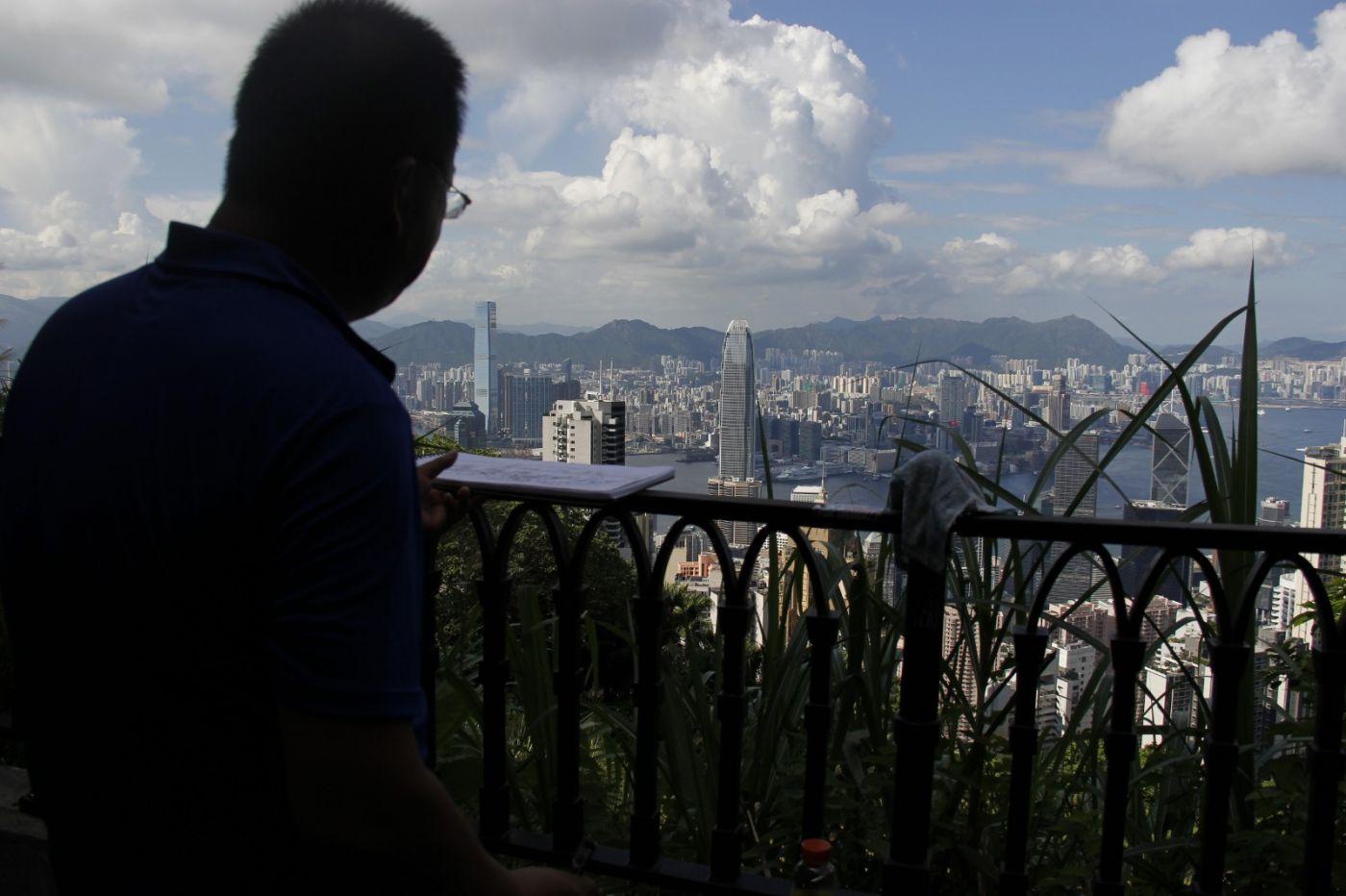 香港天平山写生_图1-1