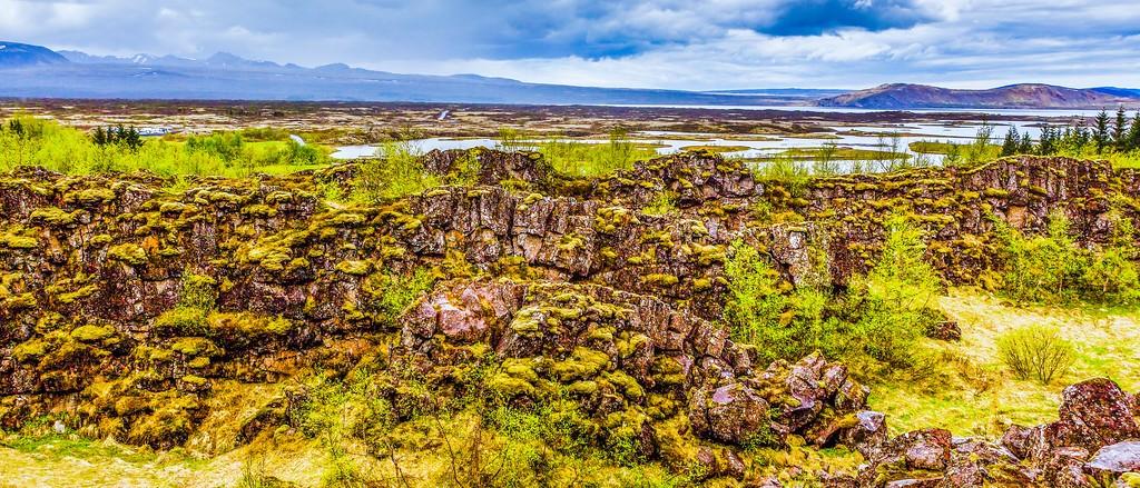 冰岛辛格韦德利国家公园,高处眺望_图1-12