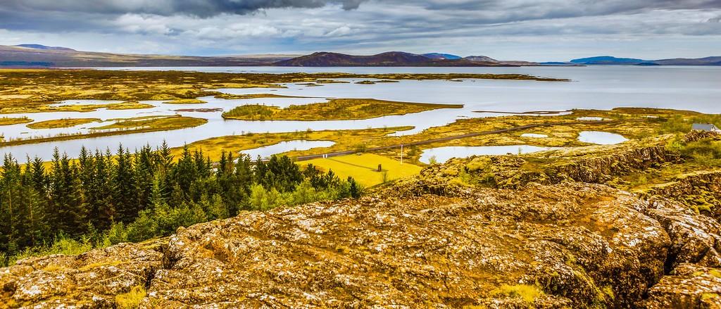 冰岛辛格韦德利国家公园,高处眺望_图1-10