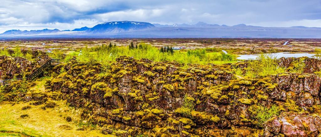 冰岛辛格韦德利国家公园,高处眺望_图1-9