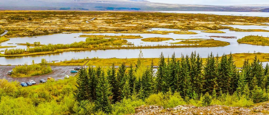 冰岛辛格韦德利国家公园,高处眺望_图1-11