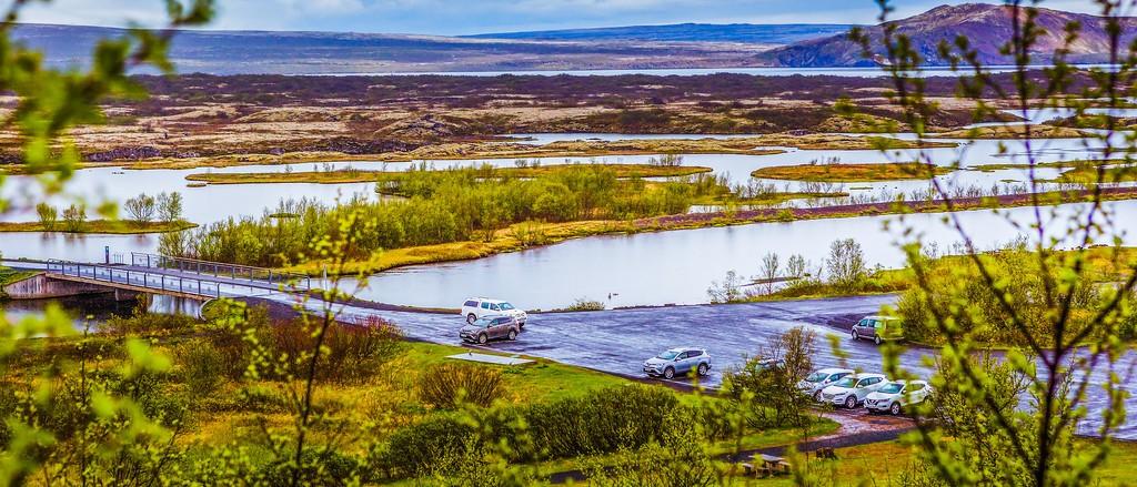 冰岛辛格韦德利国家公园,高处眺望_图1-5