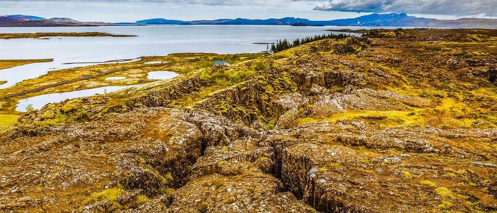 冰岛辛格韦德利国家公园,高处眺望_图1-8