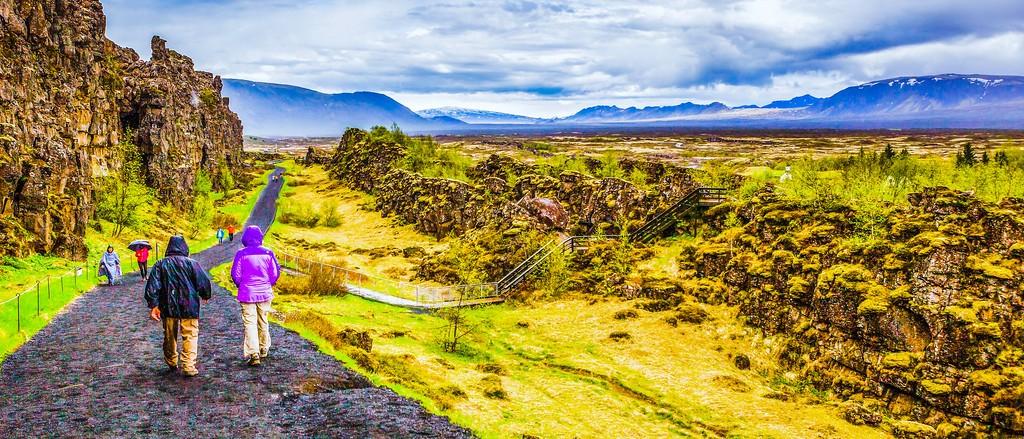 冰岛辛格韦德利国家公园,高处眺望_图1-7