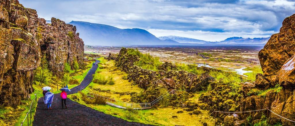 冰岛辛格韦德利国家公园,高处眺望_图1-15
