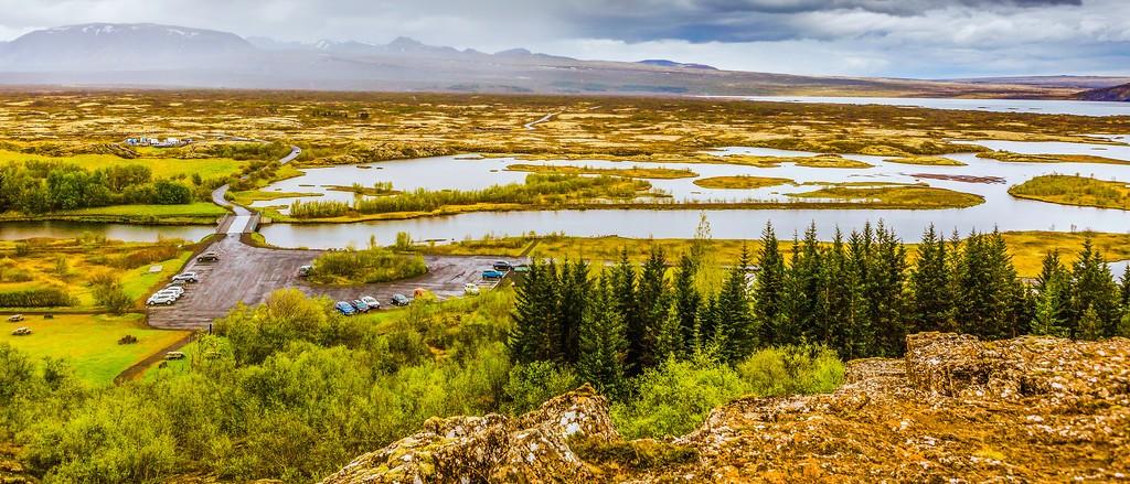 冰岛辛格韦德利国家公园,高处眺望_图1-14