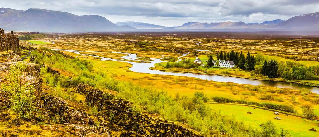 冰岛辛格韦德利国家公园,高处眺望_图1-17