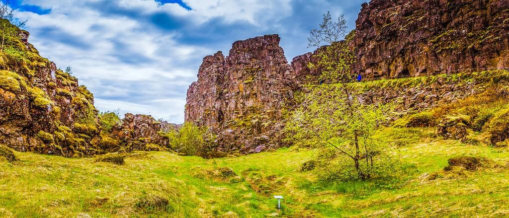 冰岛辛格韦德利国家公园,高处眺望_图1-4