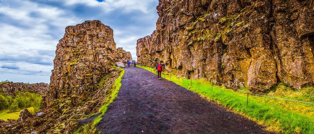 冰岛辛格韦德利国家公园,高处眺望_图1-13