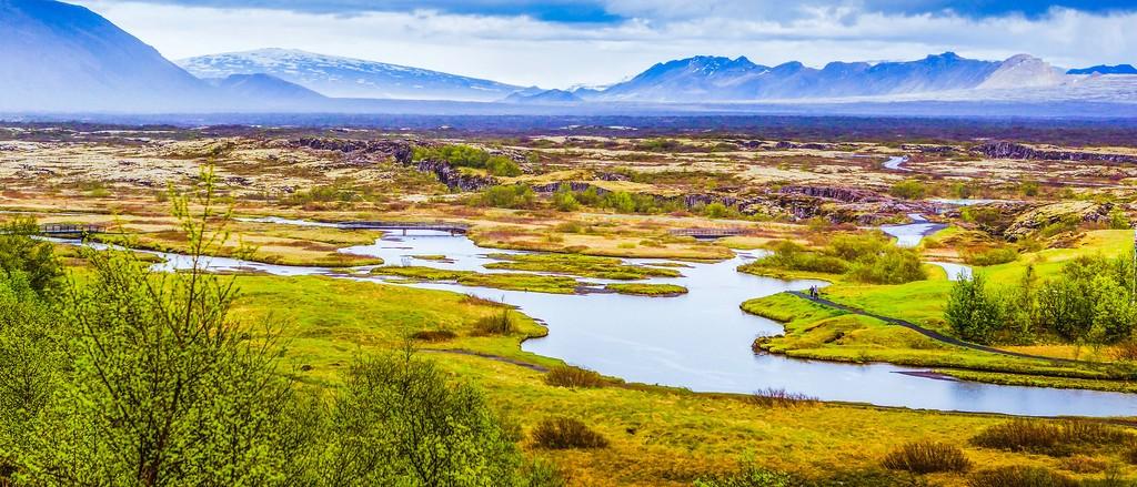 冰岛辛格韦德利国家公园,高处眺望_图1-18