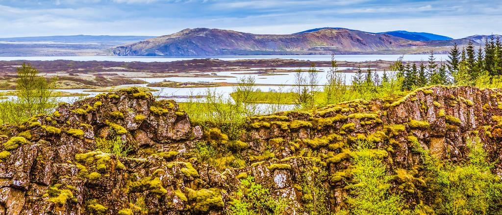冰岛辛格韦德利国家公园,高处眺望_图1-20