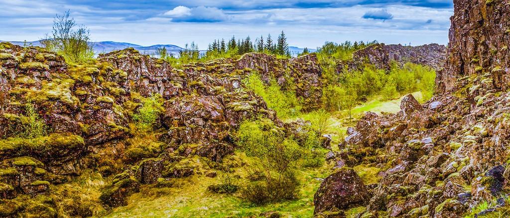 冰岛辛格韦德利国家公园,高处眺望_图1-23