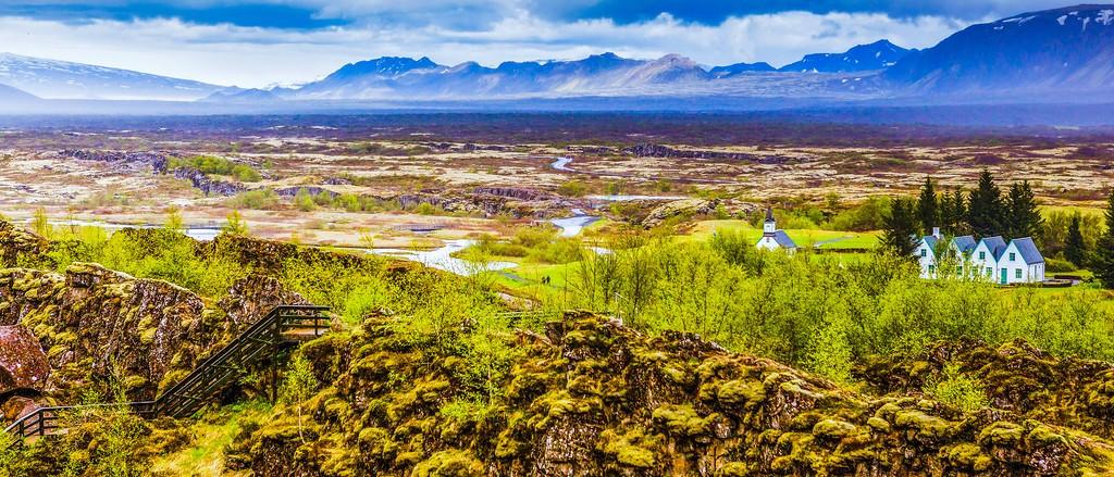 冰岛辛格韦德利国家公园,高处眺望_图1-22