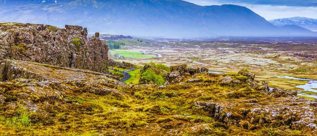冰岛辛格韦德利国家公园,高处眺望_图1-21