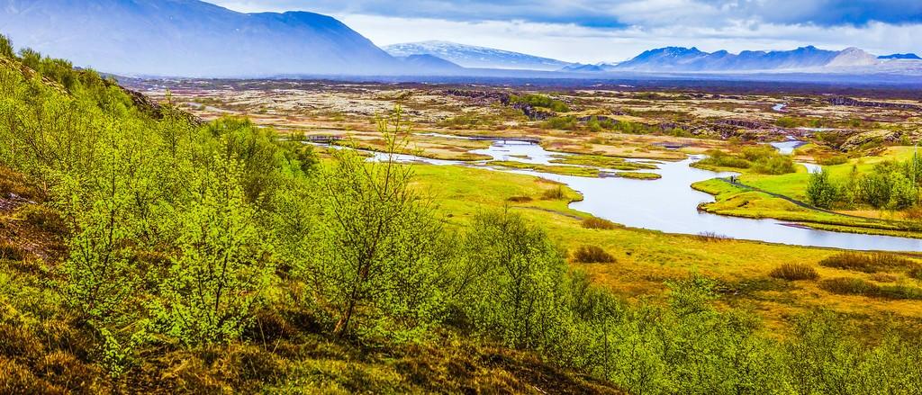 冰岛辛格韦德利国家公园,高处眺望_图1-25