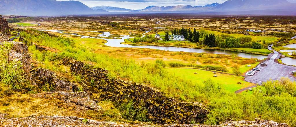 冰岛辛格韦德利国家公园,高处眺望_图1-26
