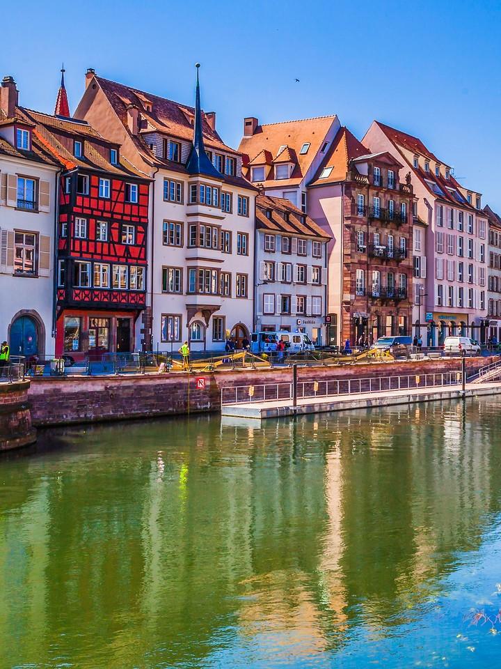 法国斯特拉斯堡(Strasbourg),沿岸风景_图1-19