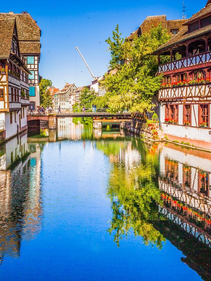 法国斯特拉斯堡(Strasbourg),沿岸风景_图1-14