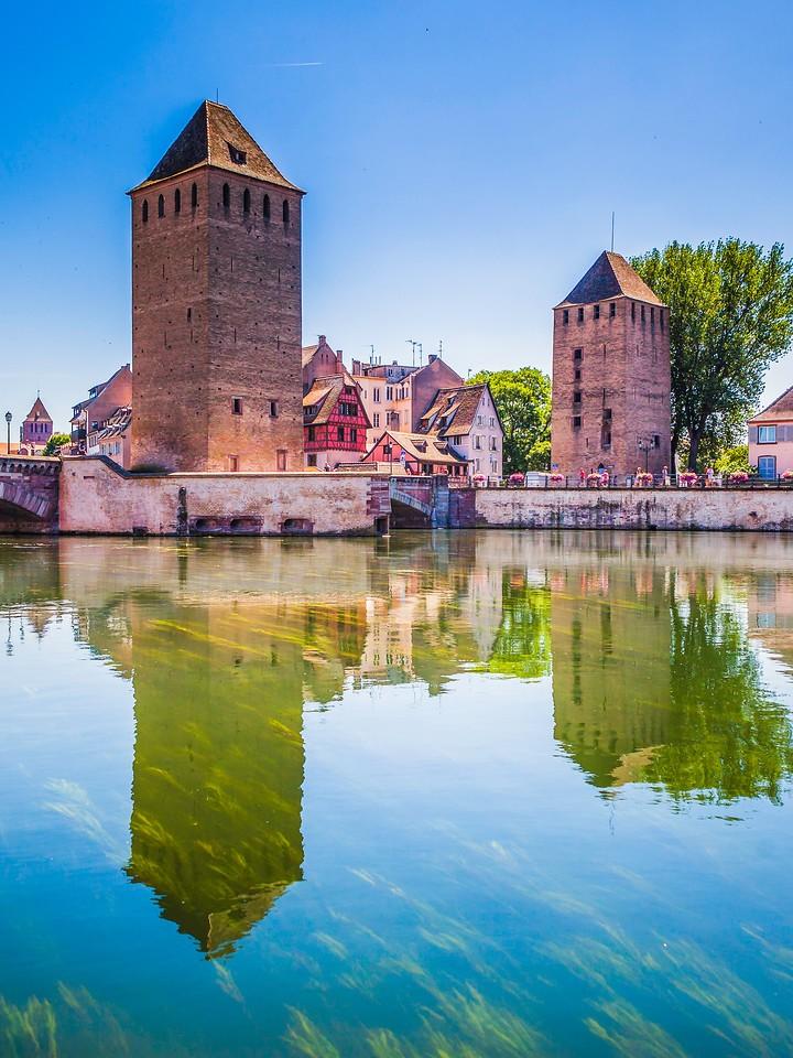 法国斯特拉斯堡(Strasbourg),沿岸风景_图1-1