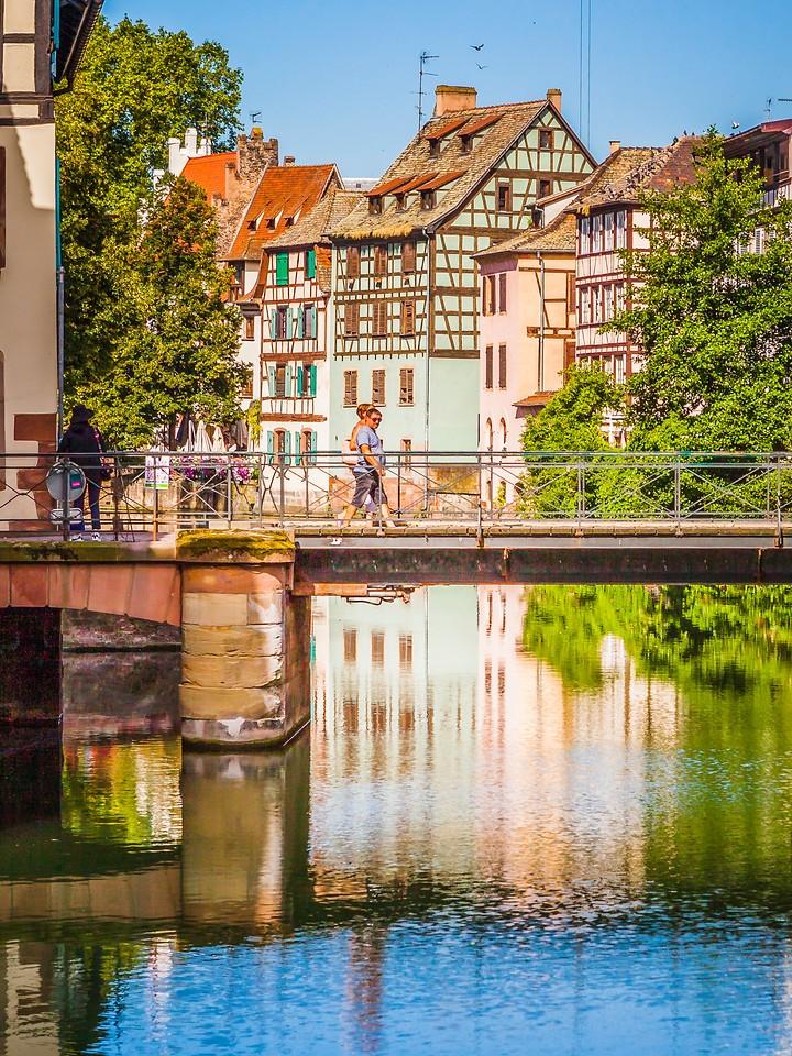 法国斯特拉斯堡(Strasbourg),沿岸风景_图1-3