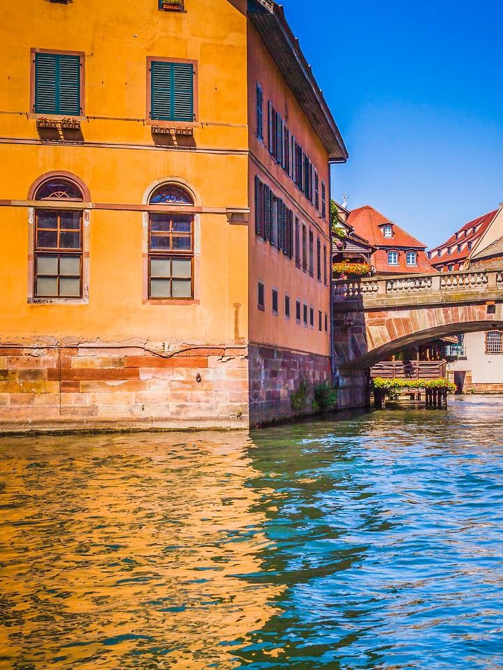 法国斯特拉斯堡(Strasbourg),沿岸风景_图1-12