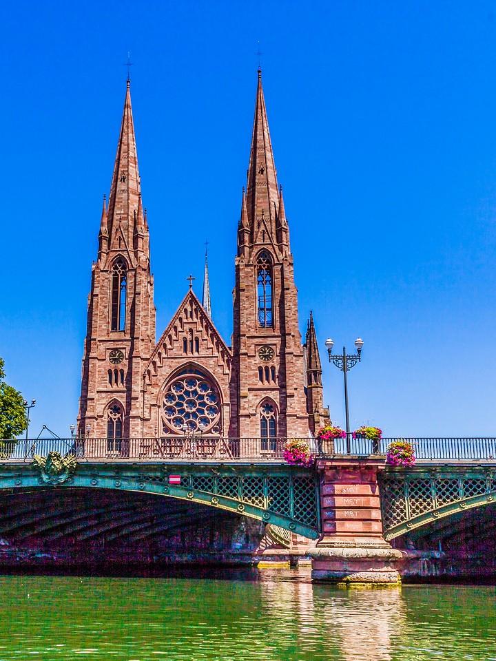 法国斯特拉斯堡(Strasbourg),沿岸风景_图1-10