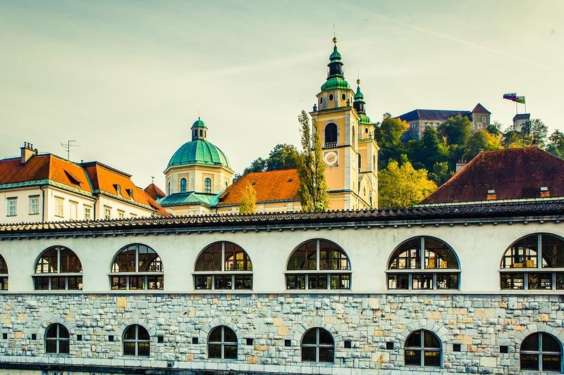 斯洛文尼亚首都卢布尔雅那(Ljubljana),特色建筑_图1-23
