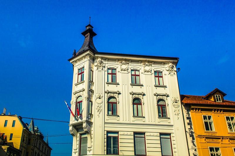 斯洛文尼亚首都卢布尔雅那(Ljubljana),特色建筑_图1-13