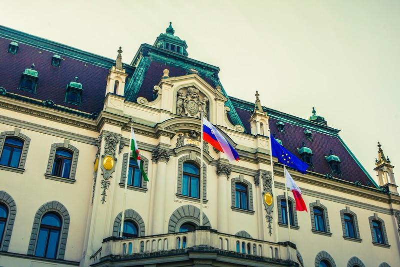 斯洛文尼亚首都卢布尔雅那(Ljubljana),特色建筑_图1-15