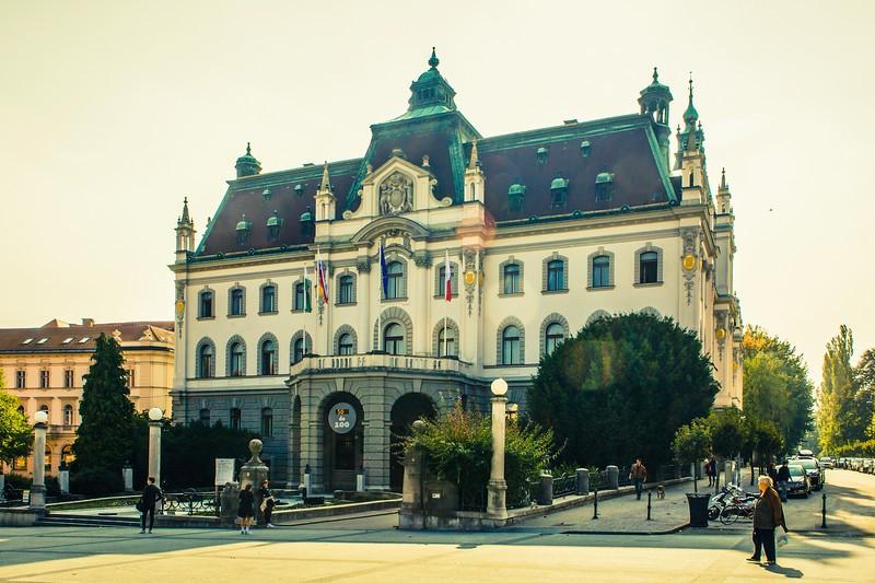 斯洛文尼亚首都卢布尔雅那(Ljubljana),特色建筑_图1-19