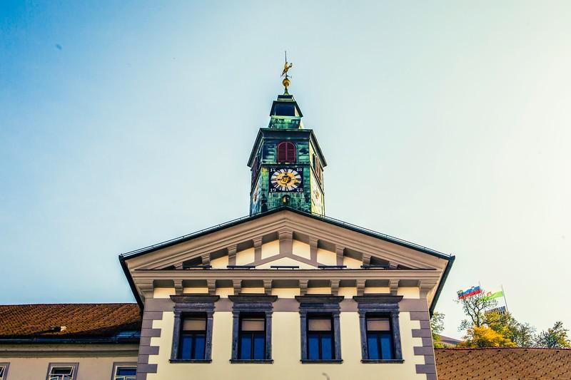 斯洛文尼亚首都卢布尔雅那(Ljubljana),特色建筑_图1-12