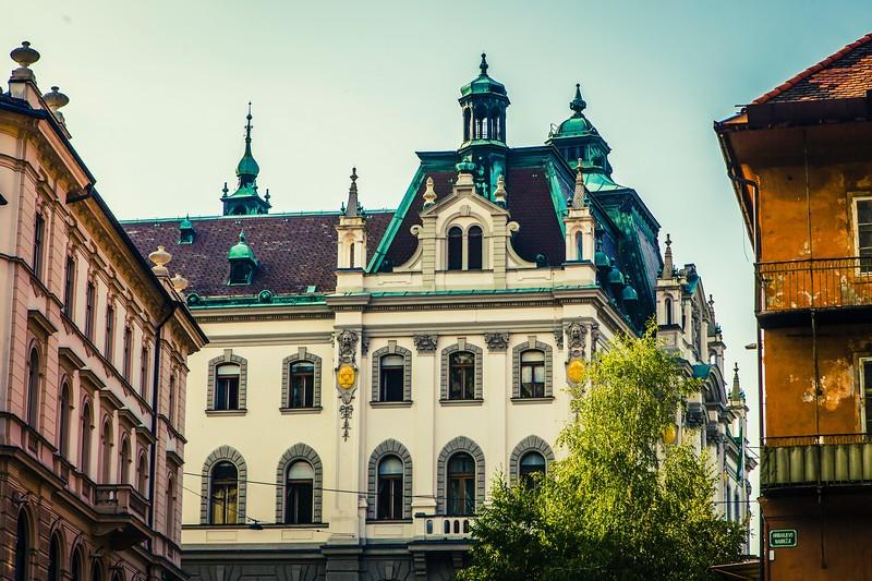 斯洛文尼亚首都卢布尔雅那(Ljubljana),特色建筑_图1-2