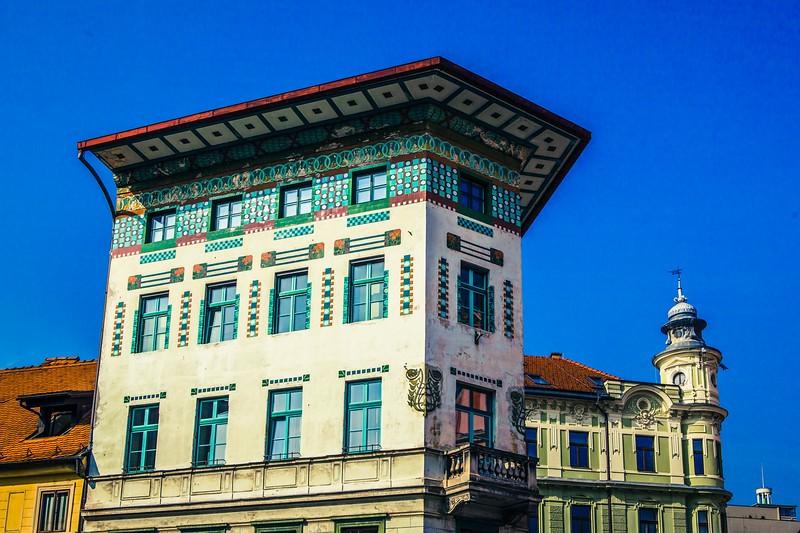 斯洛文尼亚首都卢布尔雅那(Ljubljana),特色建筑_图1-7