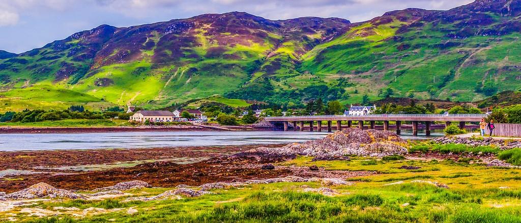苏格兰艾琳多南城堡(Eilean Donan castle),远眺英姿_图1-9